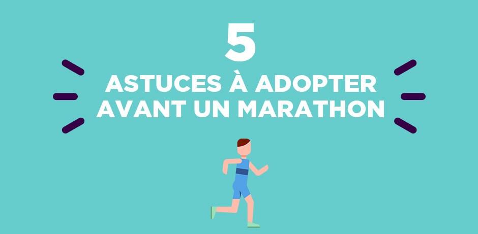 5 astuces a adopter avant un marathon