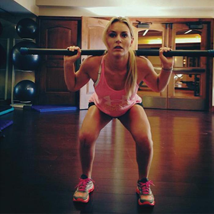Lindsey Vonn-squat-preparation-physique-ski