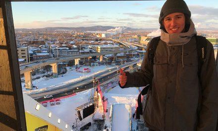 Hugo Laugier à la Jamboree : Coupe du Monde de Slopestyle au Québec