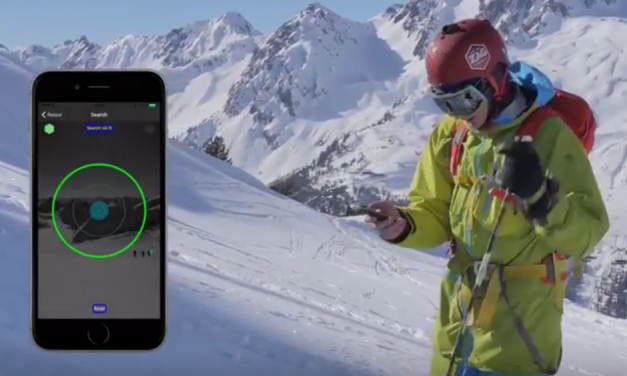 ZE TRACKER : localise vos skis