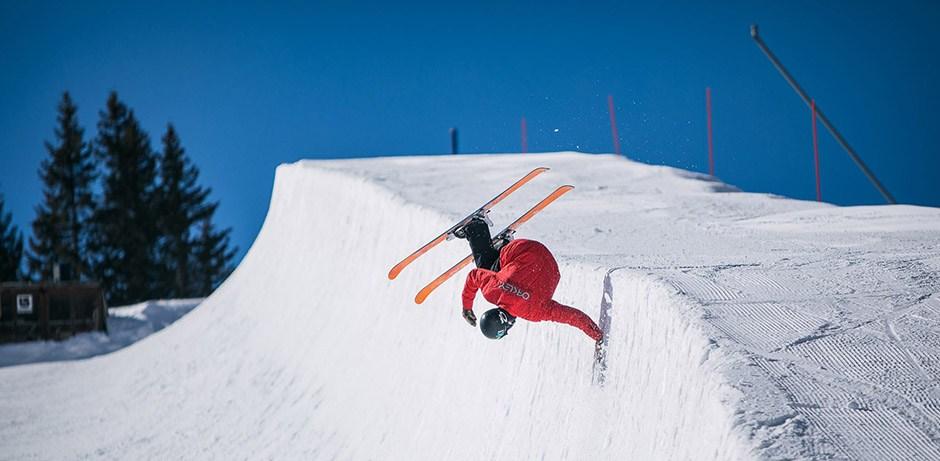 Le matos de ski d'Hugo Laugier du Team Ekosport