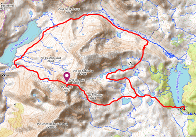 Tour-Pic-Carlit-Pyrénées-Orientales