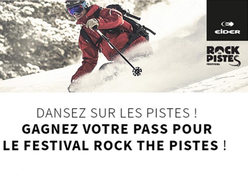 Participez au Festival Rock The Pistes 2018 avec Eider et Ekosport