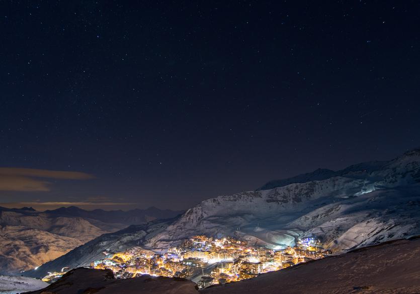 Skier à Val Thorens
