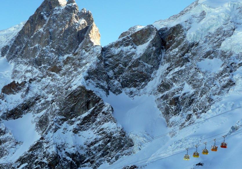 Skier à la Grave