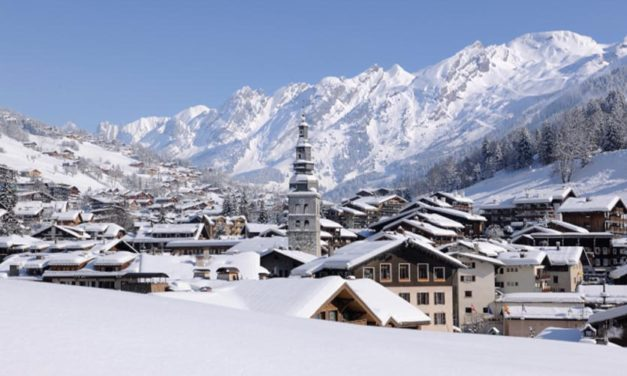 Skier à la Clusaz