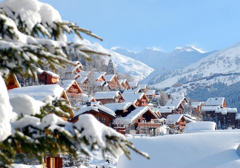 Skier à Méribel
