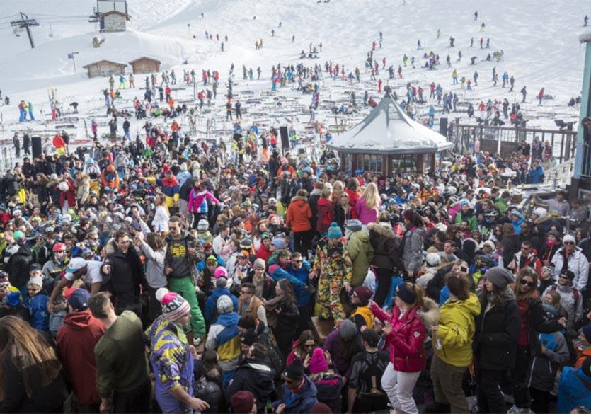 Skier à Val d'Isère