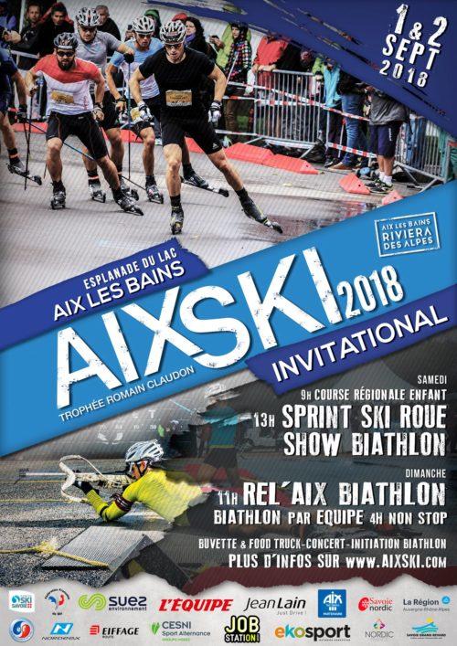 Affiche Aix Ski Invitational 2018