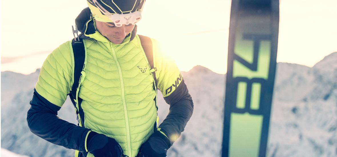 Dynafit Speedfit Test Veste Ski Homme Vue rapprochée