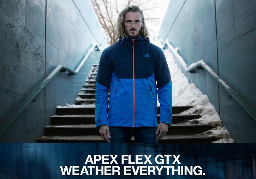 Apex Flex : la collection de vestes de haute performance