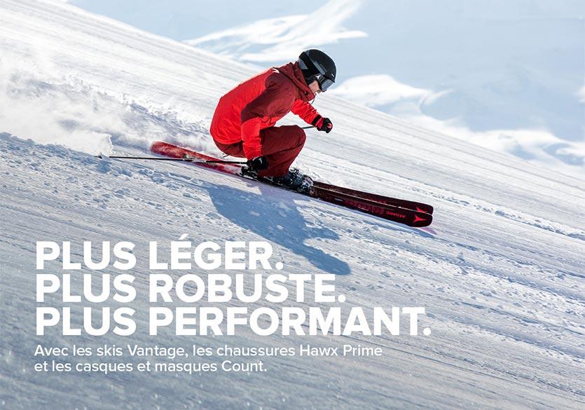Collection skis Atomic: un concentré d'innovation pour une glisse haute performance