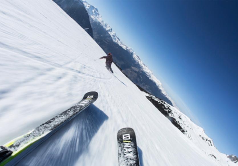 Nouveau modèle de ski de piste Salomon S/MAX Blast pour 2019