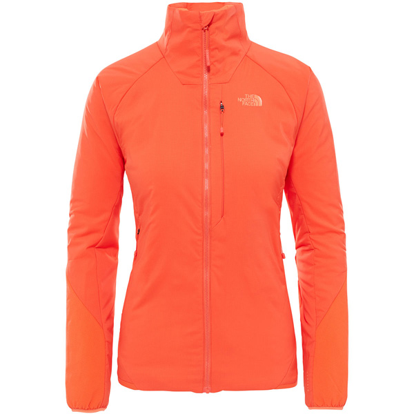 Veste Ventrix JKT W Fire Brick Red Nasturtium Orange 2018