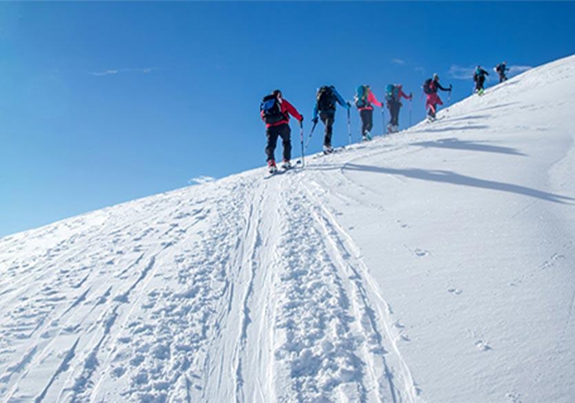 Grand Parcours : l'évènement de ski de randonnée en Savoie Mont Blanc
