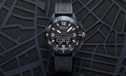L'AlpinerX, la dernière-née des montres connectées de la marque Alpina Watches