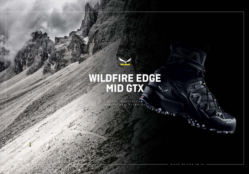 Salewa Wildfire Edge Mid GTX : une chaussure d'approche unique pour l'hiver