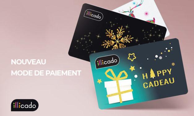 Nouveau moyen de paiement sur Ekosport : la carte cadeau Illicado