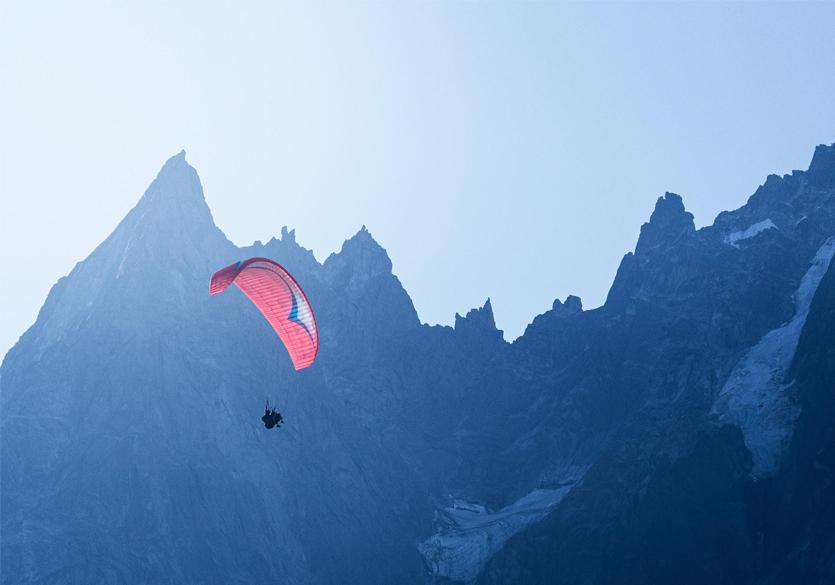 parapente- Vallée de Chamonix - Salomé ABRIAL-blog