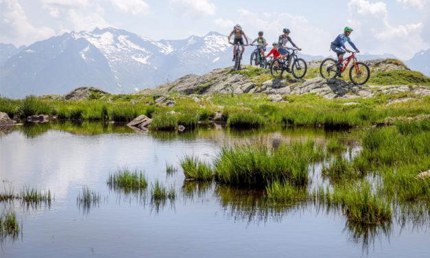 A l'Alpe d'Huez, le VTT se décline sous toutes ses formes
