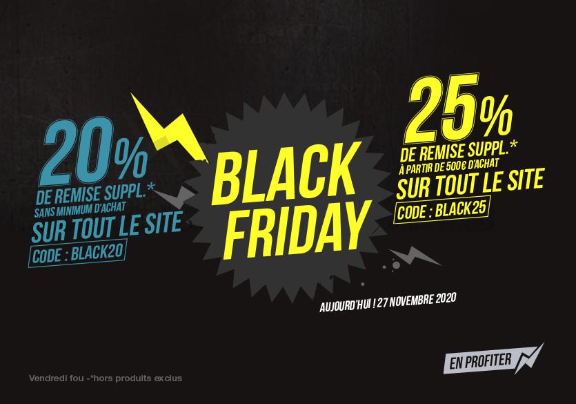 Black Friday 2020 : une avalanche de bons plans sur Ekosport !