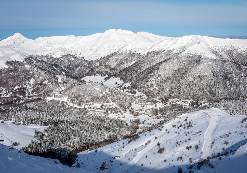 Le Lioran: skiez sur les pentes du plus grand volcan d'Europe!
