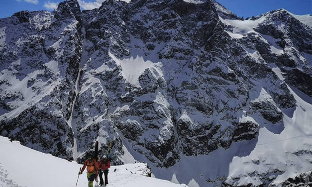 La traversée du Pelvoux à skis – Aurélia Lanoe