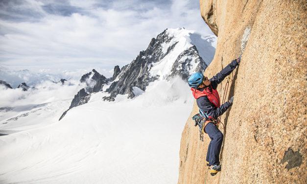 Comment s'équiper pour une grande voie d'escalade ?